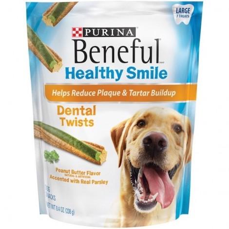 Purina Beneful Healthy Smile Large 235g, 5 Pcs