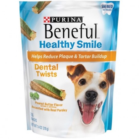 Purina Beneful Healthy Smile Small/Medium 207g, 5 Pcs