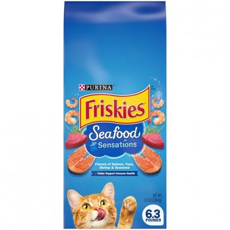PURINA FRISKIES Seafood Sensations Cat Dry Food 2.68kg