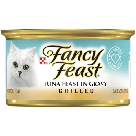 PURINA FANCY FEAST Grilled Tuna Wet Cat Food 85g