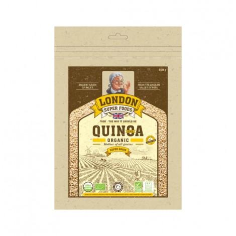 London Super Food Quinoa Pearl : Grains : Organic, 500 gm