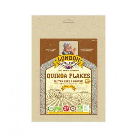 London Super Food Quinoa Pearl : Flakes : Organic & Gluten Free, 300 gm