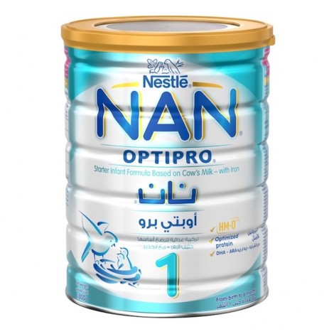Nestle Nan Optipro Stage 1 Hmo (0-6 Months Old) Premium Starter Infant Formula Powder Tin 800g