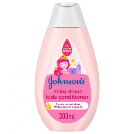 JOHNSON'S, Conditioner, Shiny Drops Kids Conditioner, 300ml