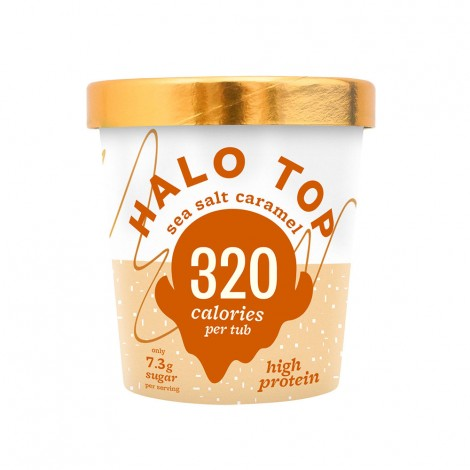 Halo Top Sea Salt Caramel ice - 473ml
