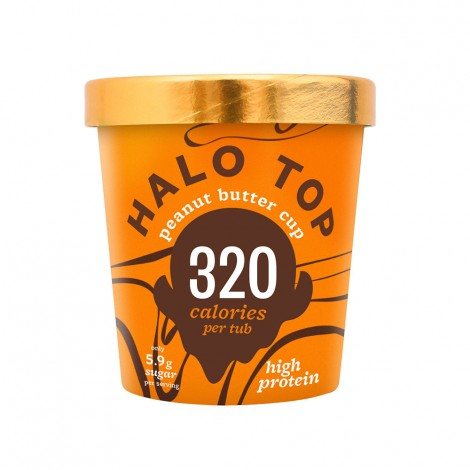 Halo Top Peanut Butter Cup ice - 473ml
