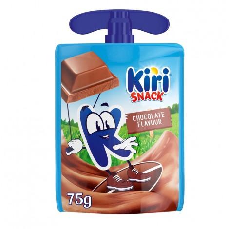 Kiri Snack Dairy Dessert Pouch, Chocolate Flavour, 1 Pouch, 75g