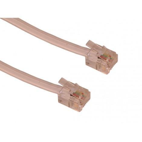 Sandberg Telephone Cable RJ11 - 1.8 M