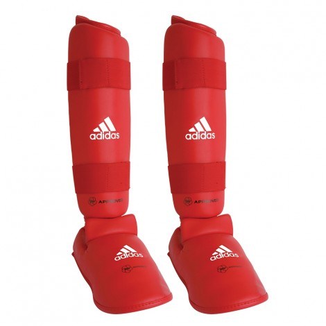 Adidas Wkf Shin & Removable Step  Size Xs