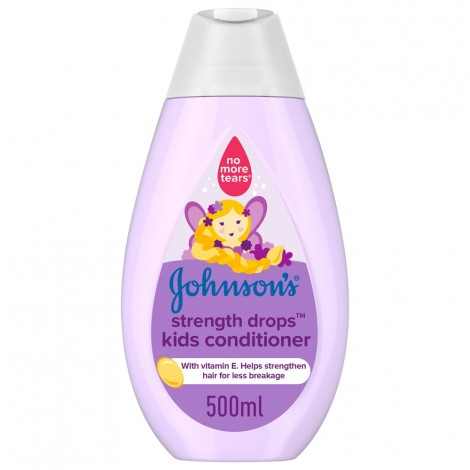 JOHNSON'S, Conditioner, Strength Drops™ Kids Conditioner, 500ml