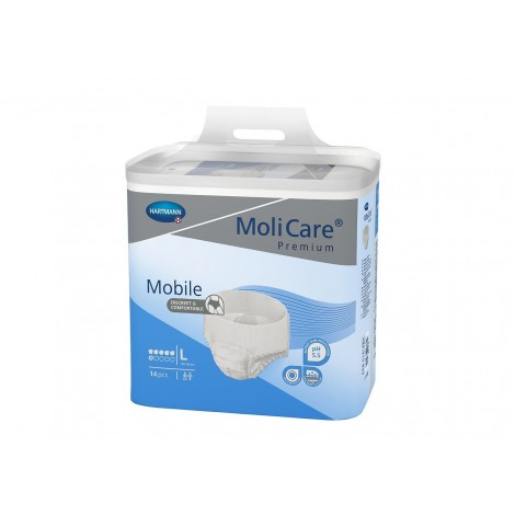 MoliCare® Premium Mobile Large 14 pieces Per pack