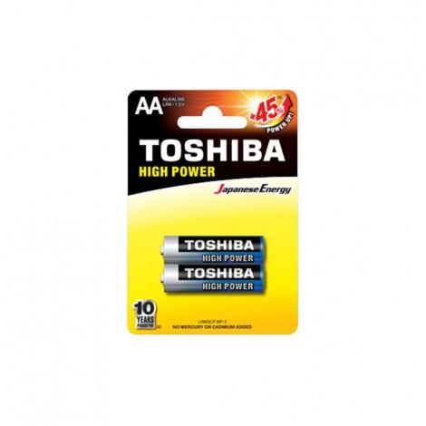 Alkaline - TOSHIBA Battery LR 06 AA 2