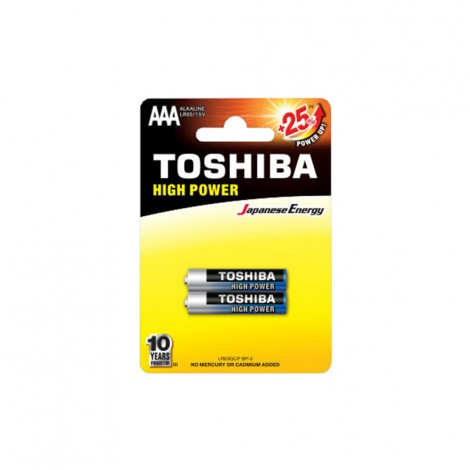 Alkaline - TOSHIBA Battery LR 03 AAA 2