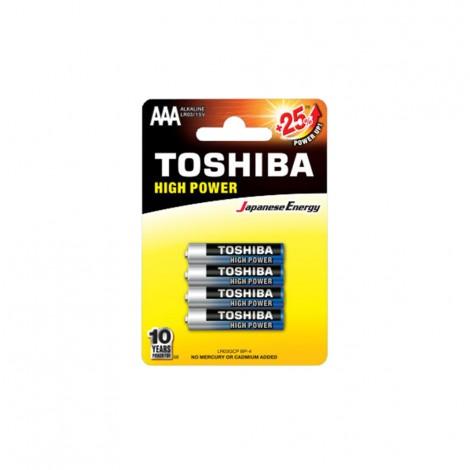 Alkaline - TOSHIBA Battery LR 03 AAA 4