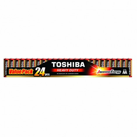 Heavy Duty - TOSHIBA Battery AA 24 GOLDEN