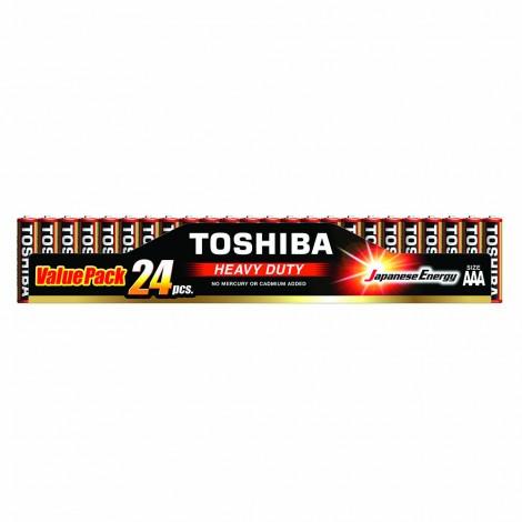 Heavy Duty - TOSHIBA Battery AAA 24 GOLDEN