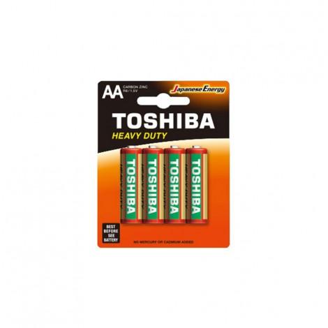Heavy Duty - TOSHIBA Battery R 06 AA 4