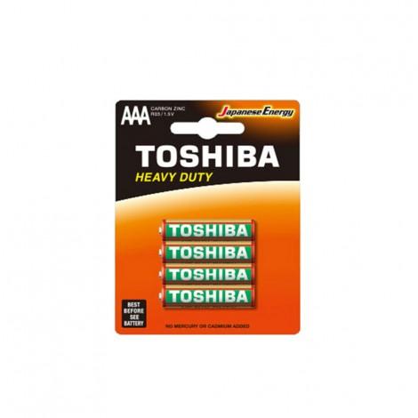 Heavy Duty - TOSHIBA Battery R 03 AAA 4