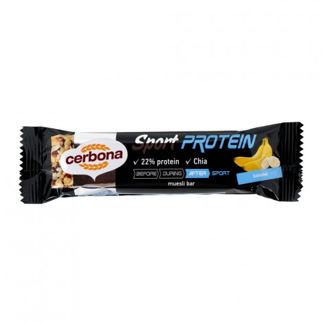 Cerbona Sport Protein Banana muesli bar - 35g