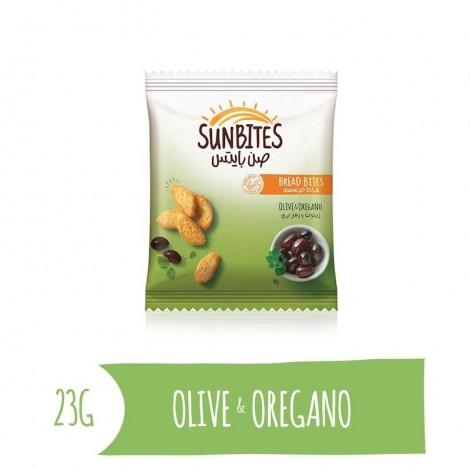Sunbites Olive & Oregano Bread Bites, 23g