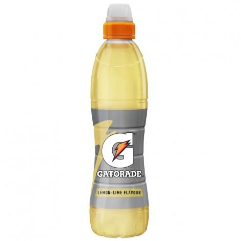 Gatorade, Electrolyte Sports Drink, Lemon-Lime, 500ml