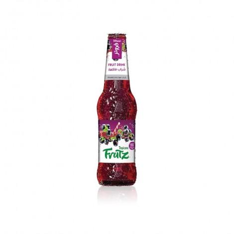Tropicana Frutz, Blackcurrant Cocktail, Glass Bottle, 300ml