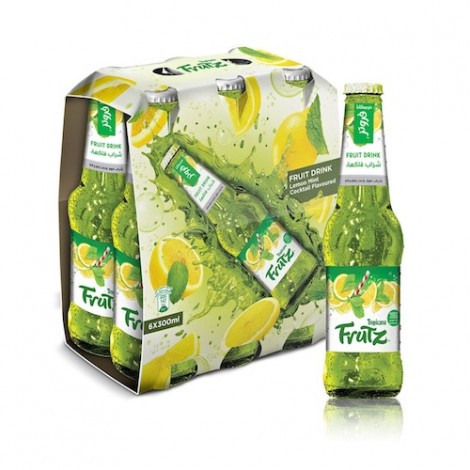 Tropicana Frutz, Lemon Mint Cocktail, 300ml x 6