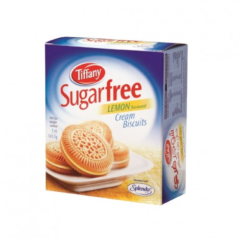 Tiffany Suger Free Lemon Biscuits, 162gm