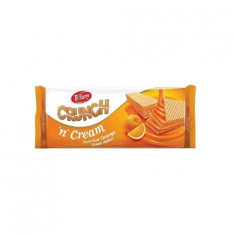 Tiffany Cream Wafer Orange, 76 gm