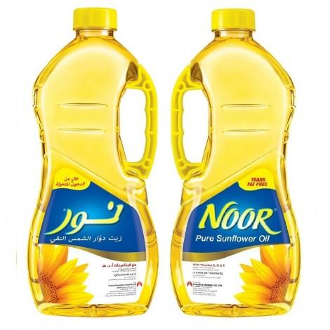 Noor Sunflower Oil - 2 x 1.8 Ltr