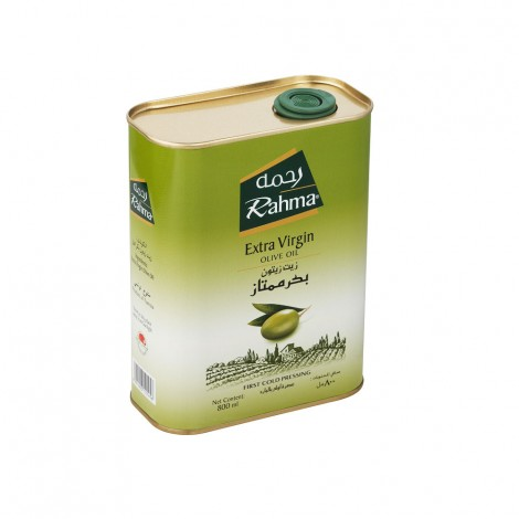 Rahma Extra Virgin Olive Oil Tin, 800ml
