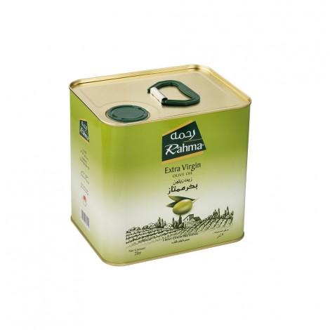 Rahma Extra Virgin Olive Oil Tin, 2Ltr
