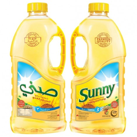 Sunny Cooking Oil, 2x1.8Ltr