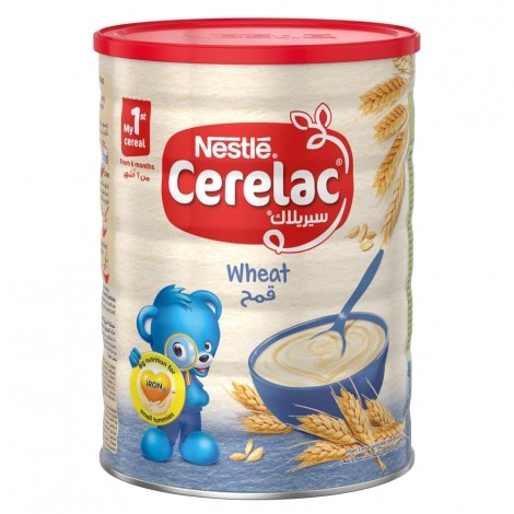 NESTLE CERELAC Infant Cereals with iRON+ WHEAT Baby Food 1kg Tin