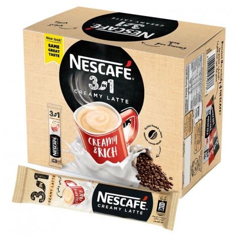 NESCAFE 3in1 Instant Creamy Latte Sachet 22.5g (Box of 20)