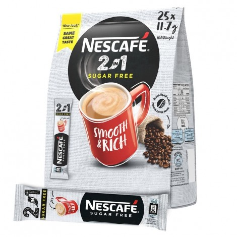 NESCAFE 2IN1 Instant Coffee Mix Sachet 11.7g (Pack of 25)