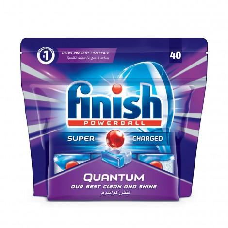 Finish Quantum Dishwasher Detergent Tablets, 40