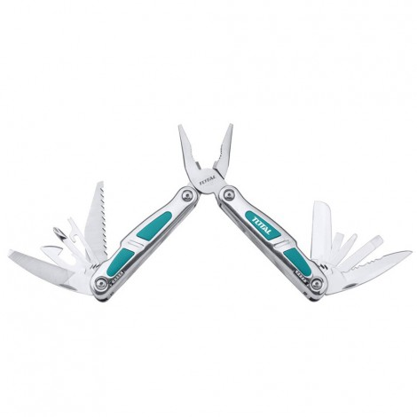TOTAL Foldable Multi Function Tool - Camping Tool