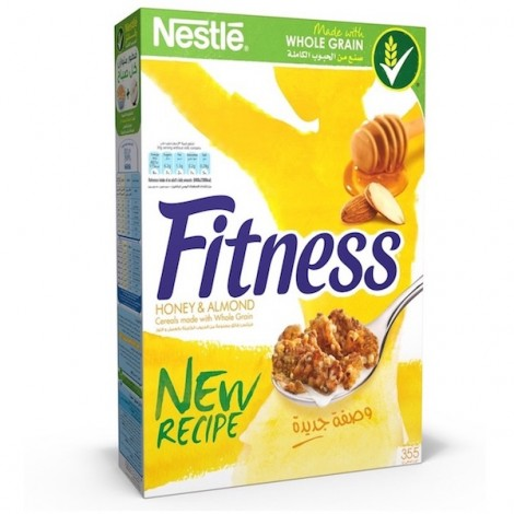 Fitness Honey & Almond Breakfast Cereal - 355 gm