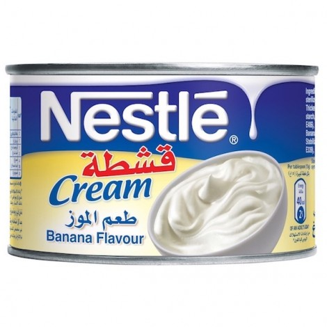 Nestle Cream Banana Flavour 175g