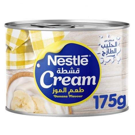 Nestle Cream Banana Flavour 175g