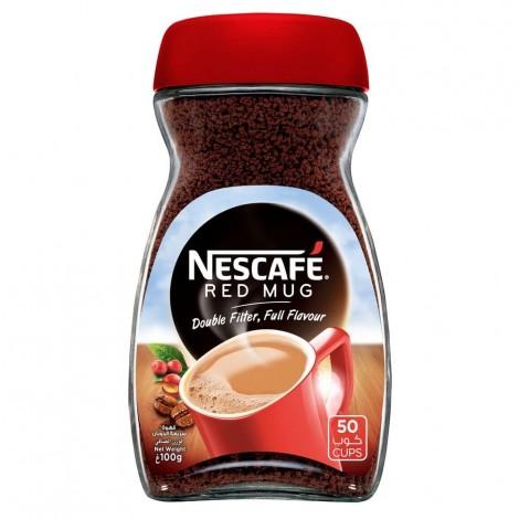 NESCAFE RED MUG Instant Coffee 100g Jar