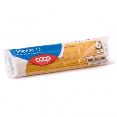 Coop Durum Wheat Pasta Linguine N13 500g
