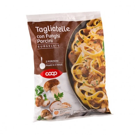 Coop Frozen Tagliatelle With Mushrooms 550g