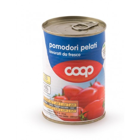 Coop Canned Peeled Tomatoes 400g