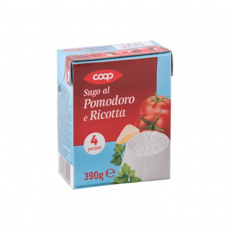 Coop Tomato And Ricotta Sauce 390g