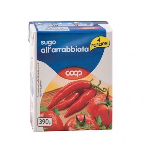Coop Arrabbiata Sauce 390g
