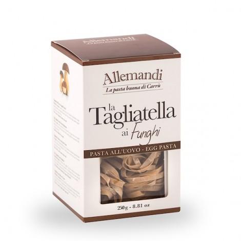 Allemandi Egg Pasta Tagliatelle With Mushrooms 250g