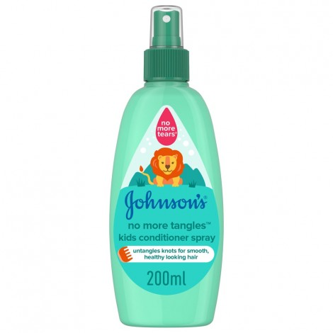 JOHNSON'S, Conditioner, No More Tangles Kids Conditioner Spray, 200ml