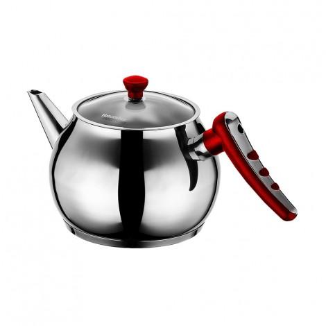 Hascevher Teapot Apple 1.8L Red